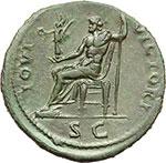 reverse:  Domiziano (81-96). Sesterzio, ca. 92-94.