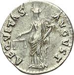 reverse:  Nerva (96-98). Denario, ca. 97 d.C.