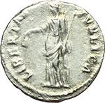 reverse:  Nerva (96-98). Denario, 97 d.C.