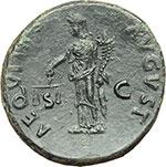 reverse:  Nerva (96-98). Asse, ca. 97 d.C.