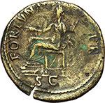 reverse:  Nerva (96-98). Sesterzio, 97 d.C.