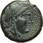 obverse:  Apulia, Salapia   AE 20 mm, ca. 225-210 a.C.