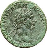 obverse:  Traiano (98-117). Asse, ca. 98-99.