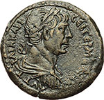 obverse:  Traiano (98-117). Dracma, Alexandria.