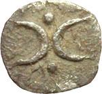 obverse:  Calabria, Tarentum   Emiobolo, ca. 280-228 a.C.