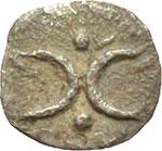 reverse:  Calabria, Tarentum   Emiobolo, ca. 280-228 a.C.