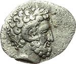 obverse:  Lucania meridionale, Metapontum   Diobolo, 325-275 a.C.