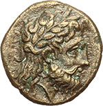 obverse:  Lucania meridionale, Metapontum   AE 14mm. 275-150 a.C.