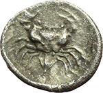 reverse:  Akragas   Litra, ca. 470-420 a.C.