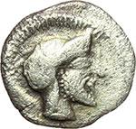 obverse:  Himera   Litra, ca. 470-450 a.C.