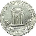 reverse:  Bologna  Pio VI (1775-1799), Giovanni Angelo Braschi Scudo romano da 100 Bolognini 1782 a. VIII.