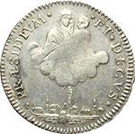 reverse:  Bologna  Governo Popolare (1796-1797) Mezzo scudo o 5 paoli 1797.