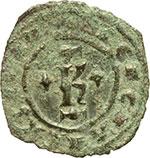 obverse:  Brindisi  Carlo I d Angiò (1266-1278) Denaro