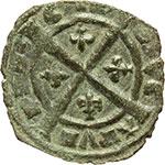 reverse:  Brindisi  Carlo I d Angiò (1266-1278) Denaro