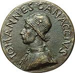 obverse:  Firenze  Giovanni Canacci (1475-), avvocato. Medaglia.