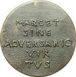 reverse:  Firenze  Giovanni Canacci (1475-), avvocato. Medaglia.