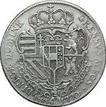 reverse:  Firenze  Pietro Leopoldo (1765-1790) Francescone 1770