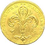 obverse:  Firenze  Carlo Ludovico di Borbone (1803-1807) con la reggenza della madre Maria Luisa. Ruspone 1804.