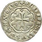 reverse:  Genova  Simon Boccanegra, doge I (1339-1344) Grosso, III tipo.