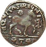 reverse:  L Aquila  Ferdinando I d Aragona (1458-1494) Cavallo.