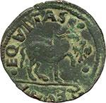 reverse:  L Aquila  Ferdinando I d Aragona (1458-1494). Cavallo.