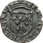 obverse:  L Aquila  Carlo VIII (1495). Cavallo.