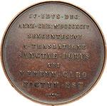 reverse:  Loreto   Medaglia 1894, per i 600 anni della \