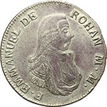 obverse:  Malta  Emmanuel de Rohan (1775-1797). 2 scudi 1796