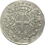 reverse:  Malta  Emmanuel de Rohan (1775-1797). 2 scudi 1796