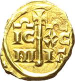 reverse:  Messina  Federico II (1197-1250) Multiplo di tarì.