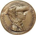obverse:  Napoli  Don Inigo d Avalos ( ....-1484), Cortigiano di Alfonso V  Medaglia ca 1449.