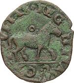 reverse:  Napoli  Ferdinando II (1495-1496) Cavallo