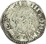 obverse:  Napoli  Carlo V (1516-1556) 1/3 di scudo.