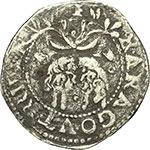 reverse:  Napoli  Carlo V (1516-1556) 1/3 di scudo.