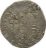 reverse:  Napoli  Filippo II (1554-1598) Tarì sigle G R