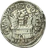 reverse:  Napoli  Filippo III (1598-1621) 15 grani 1619.