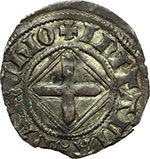 obverse:  Amedeo VIII, Duca (1416-1440) Quarto di grosso, I tipo.