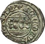 reverse:  Amedeo VIII, Duca (1416-1440) Quarto di grosso, I tipo.