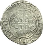reverse:  Carlo II (1504-1553) Grosso.