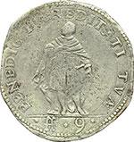 reverse:  Carlo Emanuele I (1580-1630) Scudo da 9 fiorini 1619, Torino.