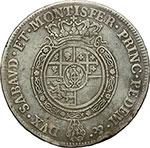 reverse:     Carlo Emanuele III (1730-1773) Scudo da 6 lire 1769, Torino.