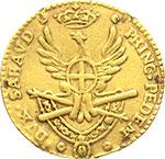 reverse:  Vittorio Amedeo III (1773-1796) Quarto di doppia 1786.