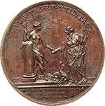 reverse:  Vittorio Amedeo III (1773-1796) Medaglia 1783 per l istituzione della Regia Accademia delle Scienze di Torino.