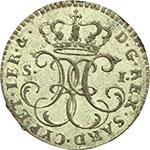 obverse:  Carlo Emanuele IV (1796-1802) Soldo 1797.