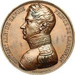 obverse:  Carlo Alberto (1831-1849) Medaglia uniface.
