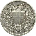 reverse:  Vittorio Emanuele II  (1859-1861) 50 centesimi 1860 F.