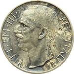 obverse:  Vittorio Emanuele III (1900-1943) 10 lire 1930.