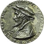 obverse:  Germania  Filippo Melantone  Medaglia 1543.