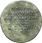 reverse:  Germania  Filippo Melantone  Medaglia 1543.