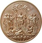 reverse:  Gran Bretagna  Vittoria (1837-1901) Medaglia 1887 per il Golden Jubelee.